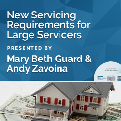New Servicing Requirements for Large Servicers