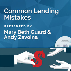 Common Lending Mistakes