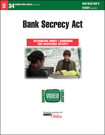 BVL Vol. 34: Bank Secrecy Act