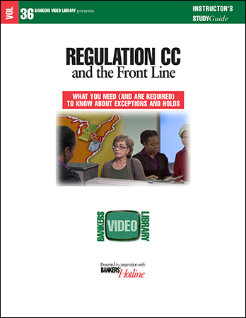 BVL Vol. 36: Regulation CC and the Front Line