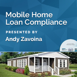 Mobile Home Loan Compliance