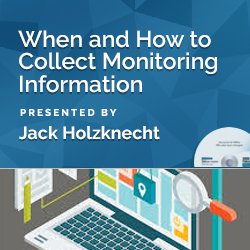 When and How to Collect Monitoring Information