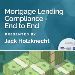 Mortgage Lending Compliance - End to End