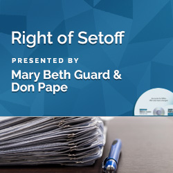Right of Setoff