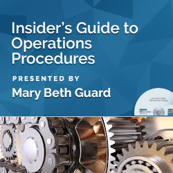 Insider's Guide to Operations Procedures