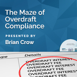 The Maze of Overdraft Compliance