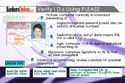 P.L.E.A.S.E. ID Verification Reminder Card -- NOW in Packs of 25