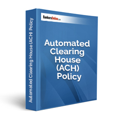 Automated Clearing House (ACH) Policy