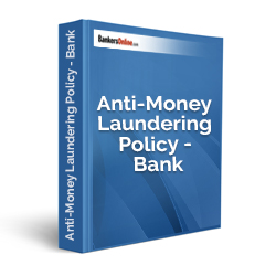 Anti-Money Laundering Policy - Bank