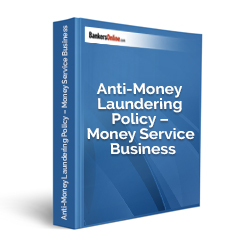Anti-Money Laundering Policy – Money Service Business
