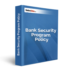 Bank Security Program Policy