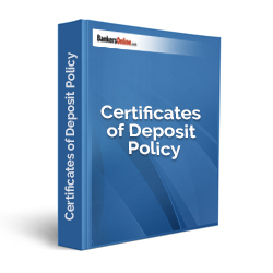 Certificates of Deposit Policy