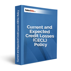 Current and Expected Credit Losses (CECL) Policy Template - Click Image to Close