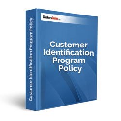 Customer Identification Program Policy