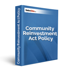 Community Reinvestment Act Policy