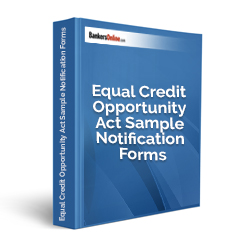 Equal Credit Opportunity Act Sample Notification Forms - Click Image to Close