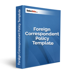 Foreign Correspondent Policy Template