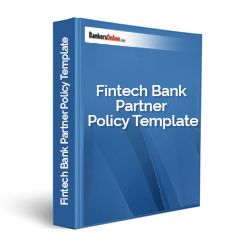 Fintech Bank Partner Policy Template