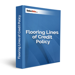 Flooring Lines of Credit Policy