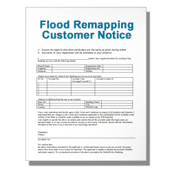 Flood Remapping Customer Notice