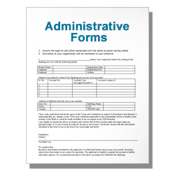 *Administrative Forms