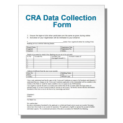 CRA Data Collection Form
