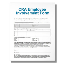 CRA Employee Involvement Form