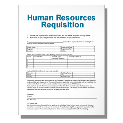 Human Resources Requisition