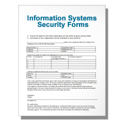 Information Systems Security Forms