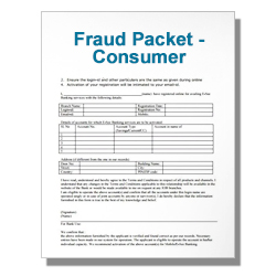 Fraud Packet - Consumer