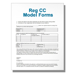 Reg CC Model Forms