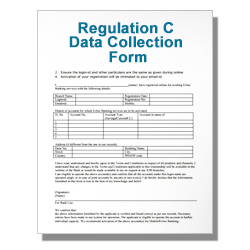 Regulation C Data Collection Form