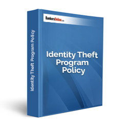 Identity Theft Program Policy