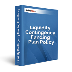 Liquidity Contingency Funding Plan Policy