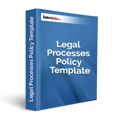 Legal Processes Policy Template