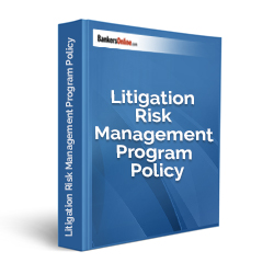 Litigation Risk Management Program Policy