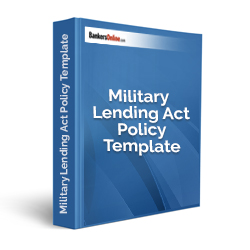 Military Lending Act Policy Template