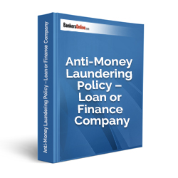 Anti-Money Laundering Policy – Loan or Finance Company