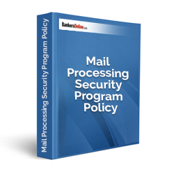Mail Processing Security Program Policy