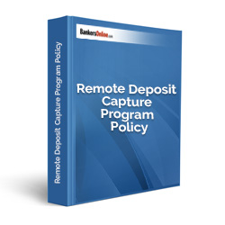 Remote Deposit Capture Program Policy