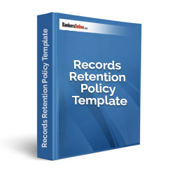Records Retention Policy Template