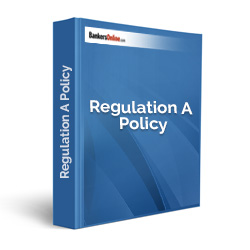 Regulation A Policy