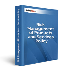 Risk Management of Products and Services Policy