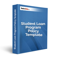 Student Loan Program Policy Template
