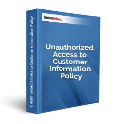 Unauthorized Access to Customer Information Policy