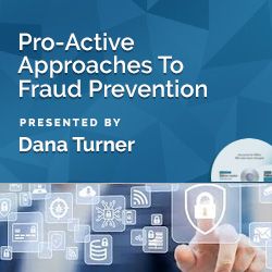 Pro-Active Approaches To Fraud Prevention