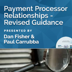 Payment Processor Relationships - Revised Guidance