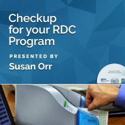 Checkup for your RDC Program