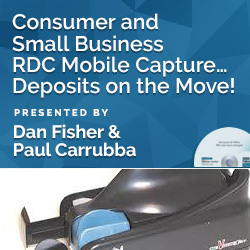 Consumer and Small Business RDC Mobile Capture… Deposits on the