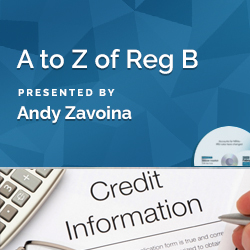 A to Z of Reg B